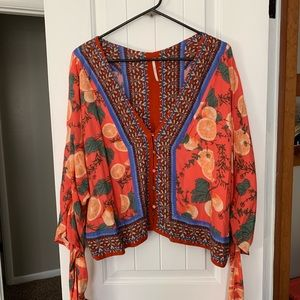 Like New! Free People button-down top, size S